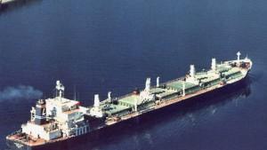Amerikanisches Schiff entkommt Piraten
