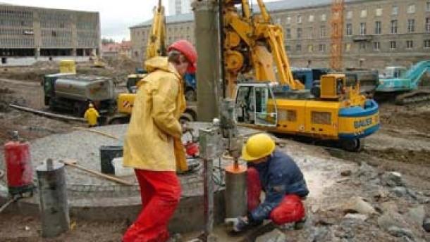 Dem Bau hat der Mindestlohn wenig Gutes gebracht