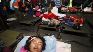 Gewaltige Erdrutsche verschütteten Dörfer