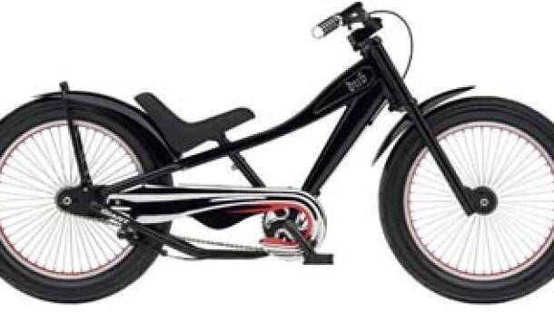 Dreiräder für Erwachsene und Chopper für Kindergartenkinder