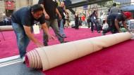 Oscar-Verleihung: Der rote Teppich ist ausgerollt