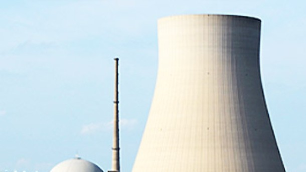 Bild / Quadrat / Kernkraftwerk Isar