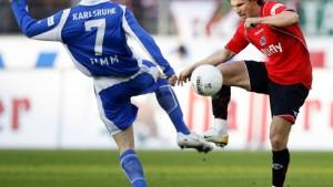 Rosenthal rettet Hannover einen Punkt