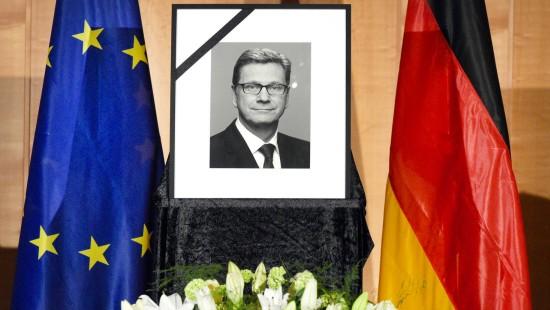 Gedenkfeier im Auswärtigen Amt in Berlin