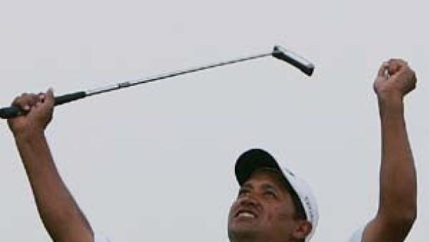 Neuseeländer Campbell bezwingt Woods bei US Open
