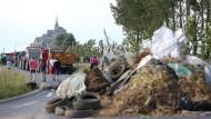 Streiksommer plagt Frankreich
