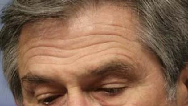 Bundesregierung für Rücktritt von Wolfowitz