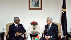 Annan: Hoffnung auf Palästinenserstaat