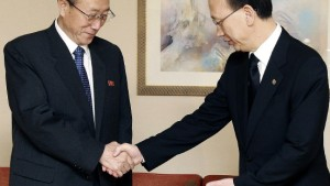 Präsident Lee empfängt Delegation aus Pjöngjang