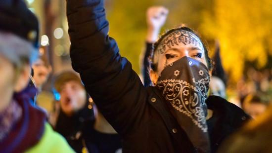 Anti-Trump-Proteste halten an
