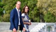 William und Kate verlassen Bhutan