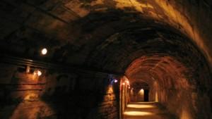 Die Panik des Jägers im Tunnel