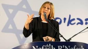 """Livni: """"Der Krieg war nötig"""""""