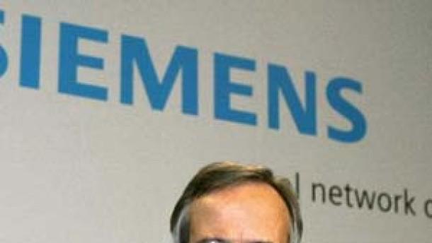 Mister Siemens nimmt Abschied
