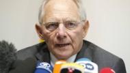 Schäuble: Der Ball liegt bei Griechenland