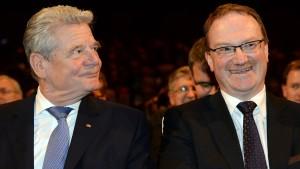 Gauck verteidigt Neoliberalismus gegen unredliche Kritik