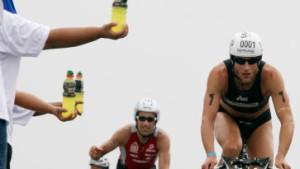 Triathleten machen Druck