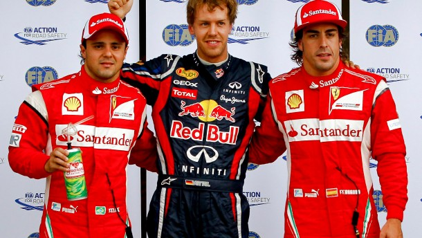 Vettel holte Kanada-Pole vor Ferrari-Duo