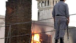 Tödlicher Brand in Gefängnis