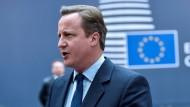 Cameron will konstruktive Scheidung von der EU