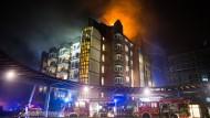 Zwei Tote nach Brand in Krankenhaus