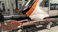 Viele Verletzte bei Zugunglück in Barcelona