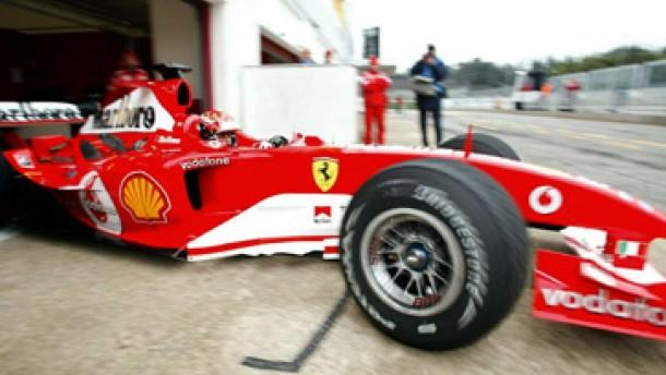 Michael Schumacher mit Streckenrekord