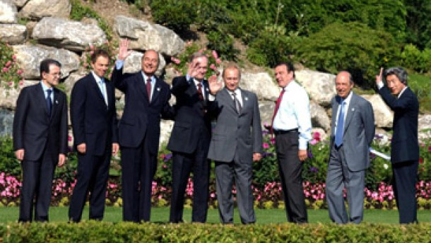 Beschlüsse des G-8-Treffens