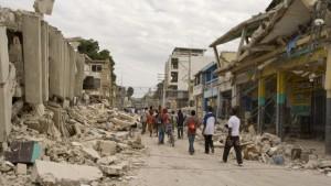 Die Hilfe kommt nur schleppend nach Port-au-Prince