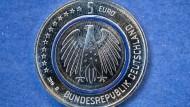 Neue Fünf-Euro-Münze
