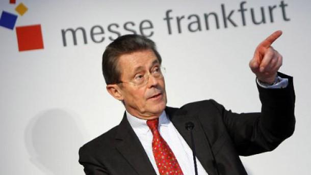 Messegeschäft in Frankfurt stößt an Grenzen