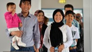 Erste Flüchtlingsfamilien leben in Tröglitz