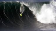 Big-Wave-Surfen in Nazaré