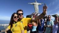 Seht her, wir waren in Rio...