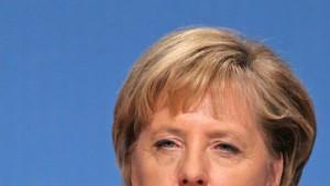 Merkels bittere Momentaufnahme