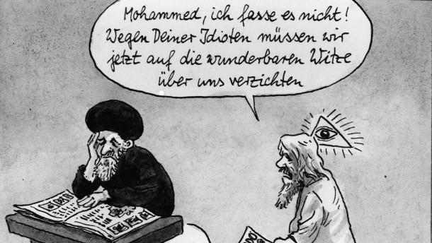 Darf man über Religion spotten?