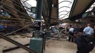 """Augenzeuge: Der Zug flog quasi durch die Luft"""""""
