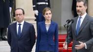 Spanischer König: Furchtbares Unglück