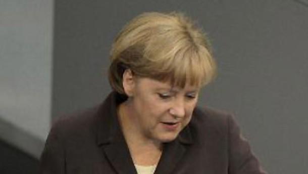 Merkel: Wir können nicht tatenlos zusehen