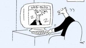 Jede Sekunde ein neues Blog