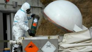 Vernichtung syrischer Chemiewaffen geht voran
