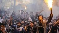 Nach Einweihung: Krawalle vor Besiktas-Stadion in Istanbul