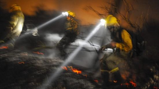 Heftige Waldbrände im Nordwesten Spaniens