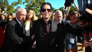 Johnny Depp und Amber Heard haben Quarantänepapiere gefälscht
