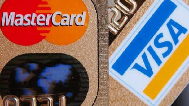 Plastikkarten verdrängen Bargeld