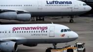 Lufthansa-Chef: Unglücksmaschine war ohne Mängel