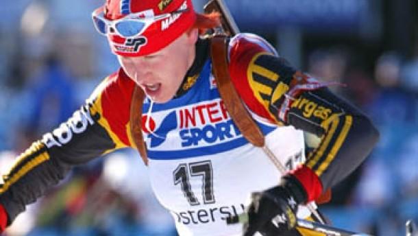Doppelsieg durch Kati Wilhelm und Sven Fischer