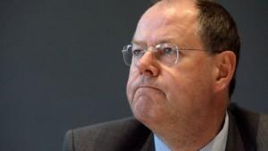 Steinbrück düpiert mehrere Ministerien