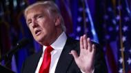 Donald Trump wird neuer Präsident