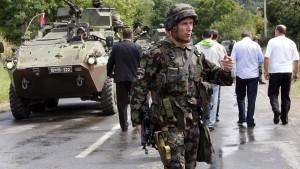 Thaci will uns in einen Krieg hineinziehen